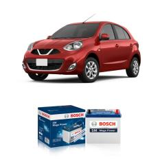 Bosch Aki Kering Mobil Nissan March - Maintenance Free (46B24L- NS60L) 42Ah CCA400 - Langsung Antar dan Pasang