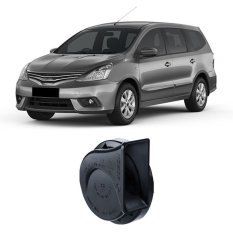 Bosch Klakson Mobil Nissan Grand Livina H3F Digital Fanfare Keong Black 12V - 0986AH0601 - 2 Buah/Set - Hitam