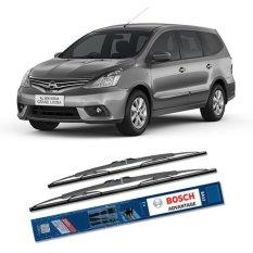 Bosch Sepasang Wiper Kaca Mobil Nissan Grand Livina 1.5i Advantage 24