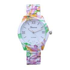 ORLANDO 410 Fashion Men Alloy Watch Hot Sale Gold Color Business Watch Wrap Quartz Dress Watch Blue (Intl)