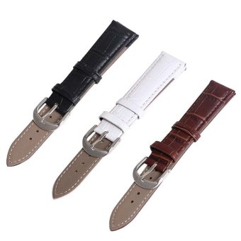 Buy 1 Get 3 Twinklenorth ww051 20mm Black Brown White Leather Watch Band Strap