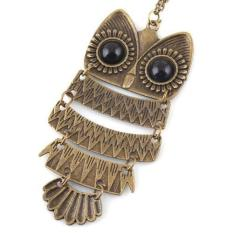 BUYINCOINS Hot Fashion Charming New Lovely Retro Owl Pendant Sweater Chain Necklace #2