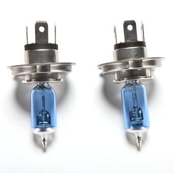 Buytra 2pce 12 V 60 55 Watt Halogen Lampu Pijar Cahaya Lampu Mobil .