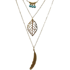J117 New 4 Daun 18 Karat Lempengan Emas Semanggi Kristal Khusus Source · Cantik perhiasan kalung