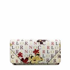 Carlo Rino 2 Fold Wallet 0303678-501-00 (White)