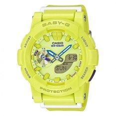 Casio Baby-G Women's Yellow Resin Strap Watch BGA-185-9A
