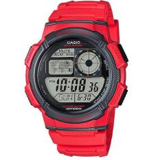 Casio Digital Watch Jam Tangan Pria - Merah - Resin - AE-1000W-4AVDF