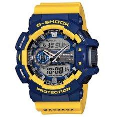 Casio G-shock GA-400-9B - Biru-Kuning
