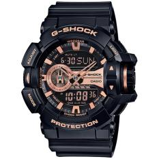 Casio G-Shock GA-400GB-1A4 Analog Digital Jam Tangan Pria - Rose Gold