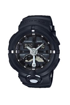 Casio G-shock GA-500-1 World Time Function Men's Watch Black (Free Size)