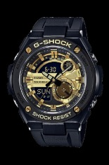 Casio G-shock GST-210B-1A9 Case / Bezel Material: Resin / Stainless Steel Men's Watch Black (Free Size)