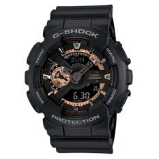 Casio G-Shock Jam Tangan Analog Digital GA-110RG-1ADR - Tali Resin