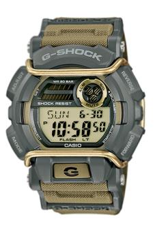 Casio G-Shock Men's Khaki Resin Strap Watch GD-400-9 - Intl