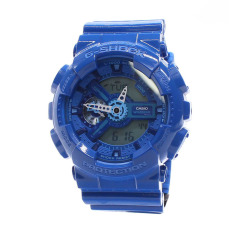 Casio G-Shock Men's Blue Resin Strap Watch GA-110BC-2ADR