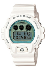 Casio G-Shock Men's White Resin Strap Watch DW-6900PL-7 (One Size)