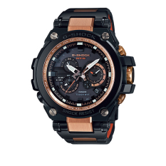 Casio G-Shock Metal Twisted TGS1000BD 5ADR - Jam Tangan Pria - Coklat - Silicon