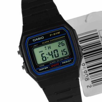 Harga Casio Klasik Digital Jam Tangan Pria - Hitam - Strap Karet - F ... 3e8157efa0
