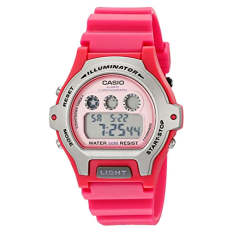Casio Women's LW-202H-4AVCF Illuminator Pink Resin Watch (Intl)