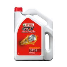 Castrol Oli Mesin Mobil - GTX ME 15W50 SM/CF (4 Liter)