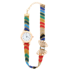 Casual Style Fabric Bracelet Wristwatch Women Fashion Luxury Watch NO.2 (Intl)