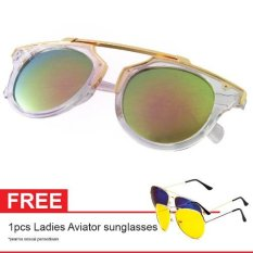 Cat Eye Retro Free Aviator Sunglasses Kacamata Wanita Black Chf Source · 008 Blk Purp Source