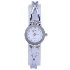 CatWalk Stainless Steel Perhiasan Wanita Gelang Kuarsa (Putih)