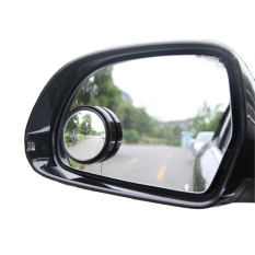 Cermin Kaca Spion Kecil Mini Cembung Wide Angle Blind Spot Car Mirrors Spion Mobil Motor