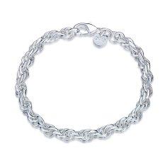 Chain Twist Bracelet Womens Jewelry Wholesaler LKNSPCH513 - Intl