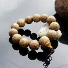 Chinoiserie Accessory Strand Bracelet Beads Of Synthetic Resin and Rare Natural Wood Hot Seller 2 Pcs