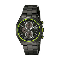 Citizen Men's Drive From Citizen Eco-Drive CA0435-51E HTM 2.0 Black Ion Plated Stainless Steel Chronograph Watch (Intl)