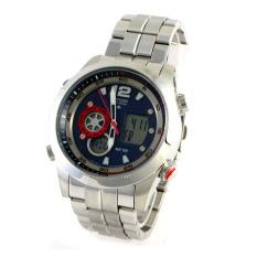 Citizen Watch ECO-DRIVE Silver Stainless-Steel Case Stainless-Steel Bracelet Mens Japan NWT + Warranty JZ1000-51L