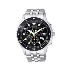 Citizen Watch ECO-DRIVE Silver Stainless-Steel Case Stainless-Steel Bracelet Mens NWT + Warranty BL5290-59E