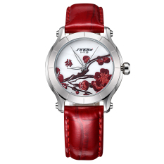 CITOLE 2016 New Genuine Promise Than SINOBI Brand Watches Ladies Watch Leather Waterproof Watch China Wind (Intl)