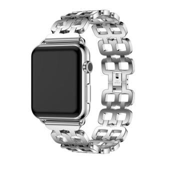 coconie Genuine Stainless Steel Bracelet Smart Watch Band Strap For Apple Watch Series 2 38mm -