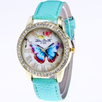 coconie Watch Candy Color Male And Female Strap Wrist Watch - intl