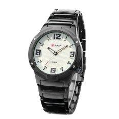 Curren 8111 Casual - Style Watch - Hitam Hitam