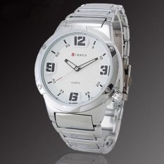 Curren 8111 Casual - Style Watch Jam Tangan Kasual - Sportif Hitam
