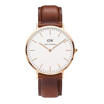 Daniel Wellington Classic St Mawes White Dial Men's Watch 0106DW