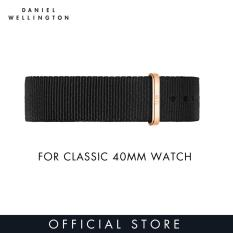 Daniel Wellington Watch Band Classic Black NATO 20mm