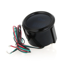 Digital Water Temperature Meter Gauge With Sensor For Auto Car 52mm 2in LCD 40~120Celsius Degree Warning Light Black