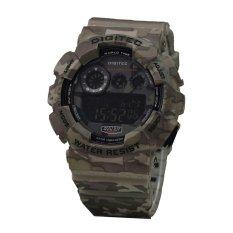 Digitec Army Edition DG1211 Digital Jam Tangan Pria Rubber Strap (Hijau)