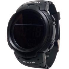 Digitec DB 3035 S - Jam Tangan Pria Dan Wanita Olahraga - Digital - Strap Full Hitam