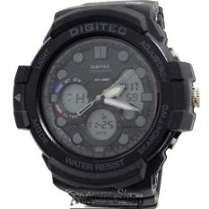 Digitec Dg2092 - Jam Tangan Olahraga Pria - Dual Time - Fiture Exclusive - Rubber