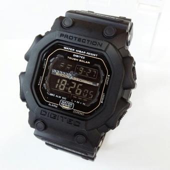 Digitec Jam - tangan - Pria - digital - Tipe DG-2012T Original - Fuul Black