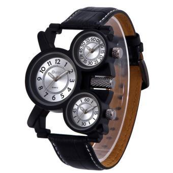 Dmscs Kobwa OULM European Radium Mens Watch Wholesale / Ebay Foreign Trade Selling Watches / Long / Leather Watchband / 1167 Gun