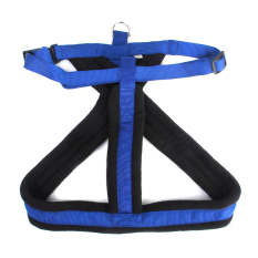 Dog Chest Strap Harness L Blue - intl