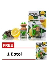D'one Parfum Gantung Car & Homme D'one Aroma Greentea Lemon + Get 1 Free