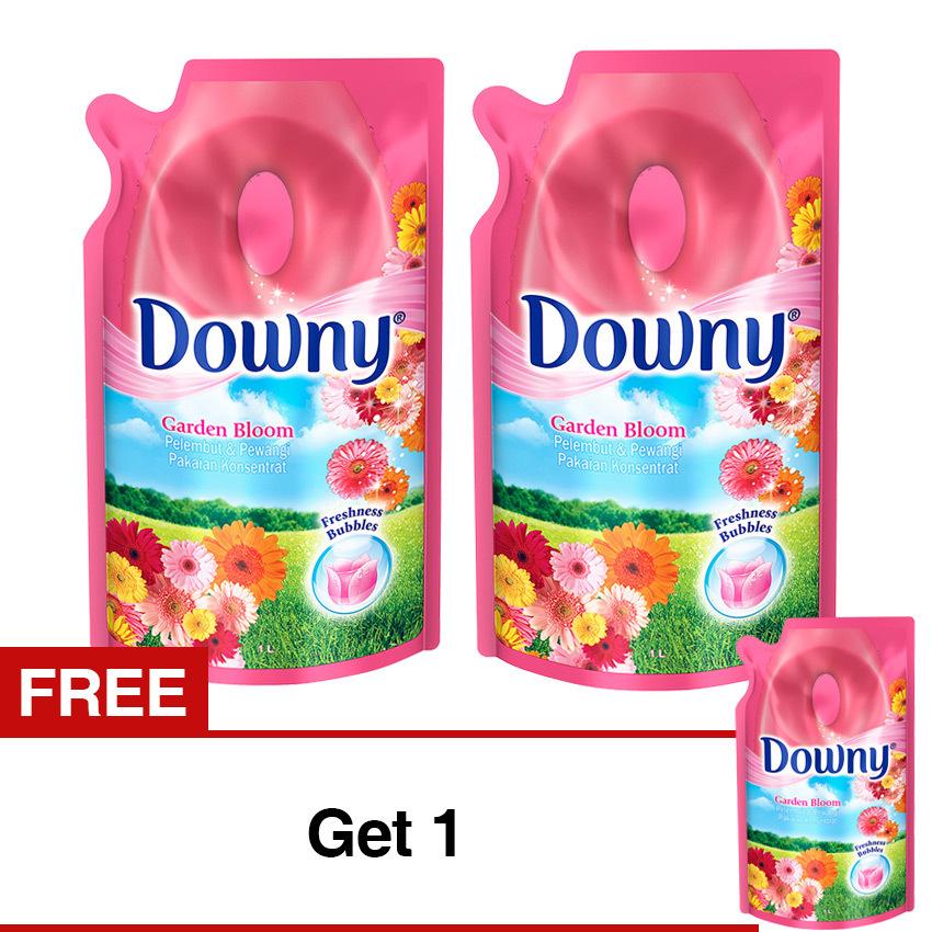 Downy Garden Bloom Refill - 1 L - Special Promo Beli 2 Gratis 1