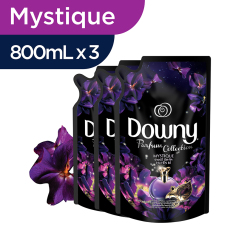 Downy Mystique Refill 800ml - Paket isi 3