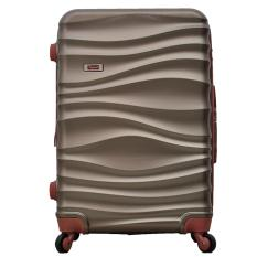 Dupont Tas Koper Hardcase Anti Tusuk + EXPANDER + TSA LOCK Size 24 inch 6043 - Cokelat